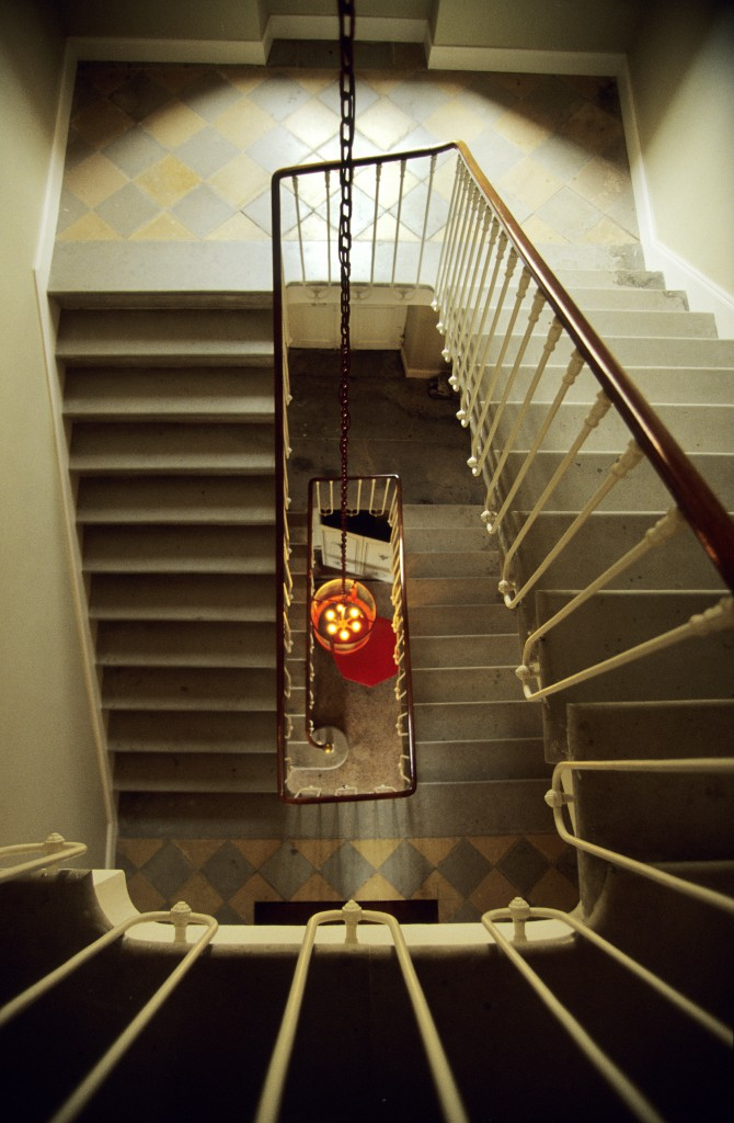 Château - l'escalier